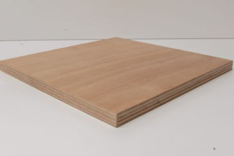 Marine Ply Sheet 1200mm x 600mm Gaboon (Okoume) Throughout BS1088 WBP